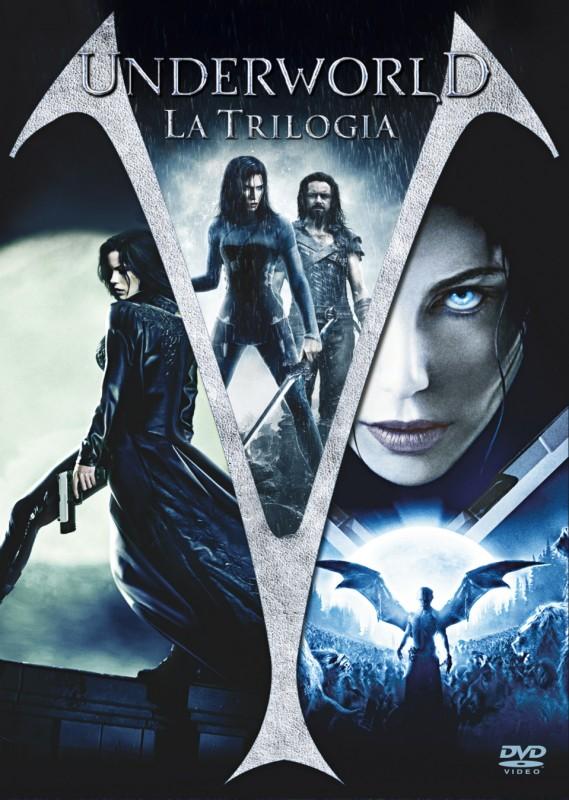 La copertina di Underworld - La trilogia - Cofanetto