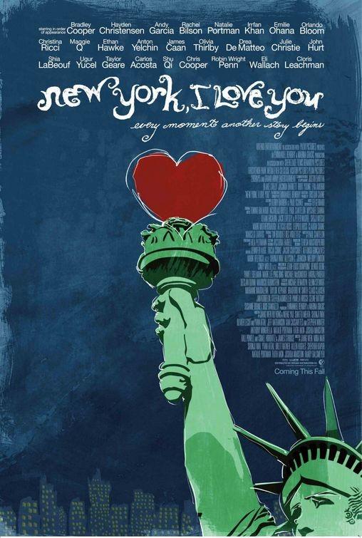 La locandina di New York, I Love You
