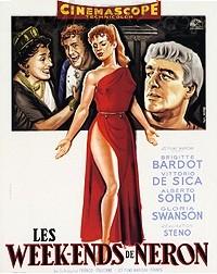 La locandina francese del film Mio figlio Nerone