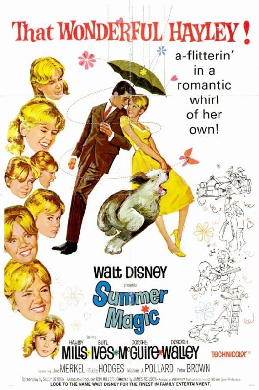 Locandina americana del 1963 del film Magia d'estate