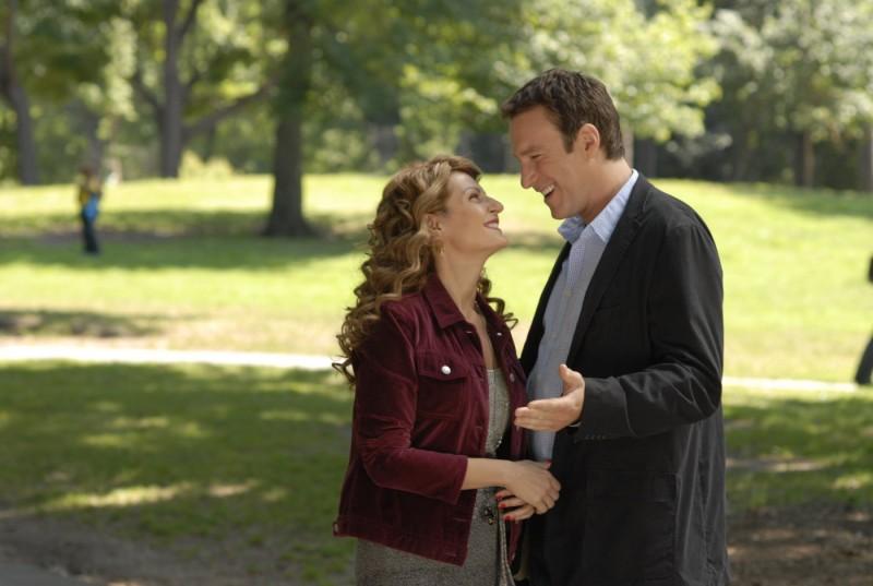 Nia Vardalos e John Corbett in un'immagine del film I Hate Valentine's Day