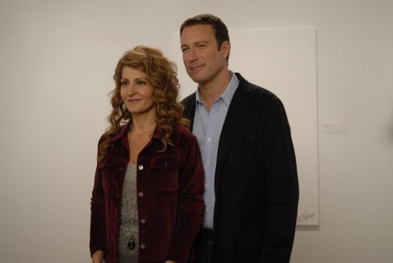 Nia Vardalos e John Corbett in una scena del film I Hate Valentine's Day