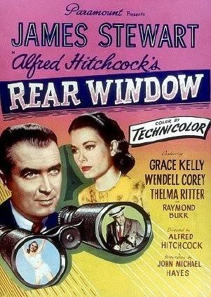 Poster americano del 1954 del film La finestra sul cortile