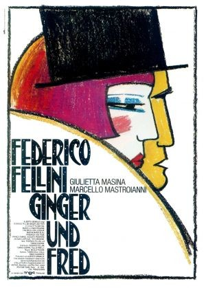 La locandina di Ginger e Fred
