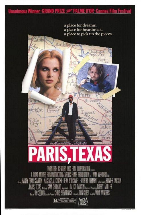 La locandina di Paris, Texas