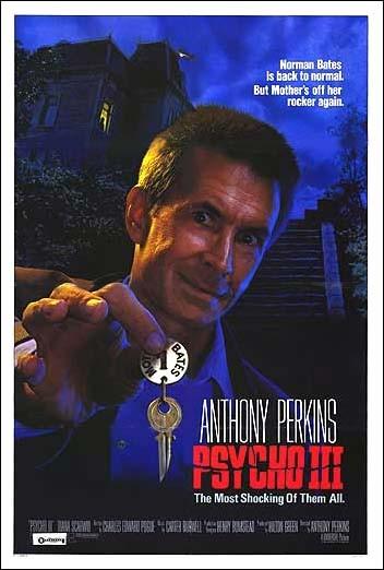 La locandina di Psycho III