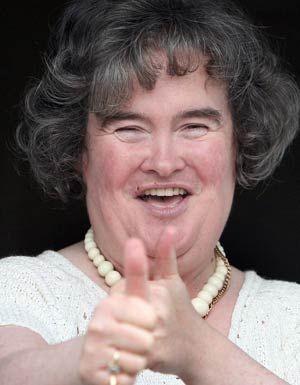 Una foto di Susan Boyle