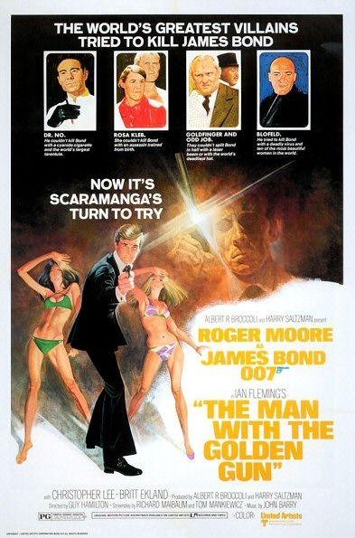 La locandina di Agente 007, l'uomo dalla pistola d'oro