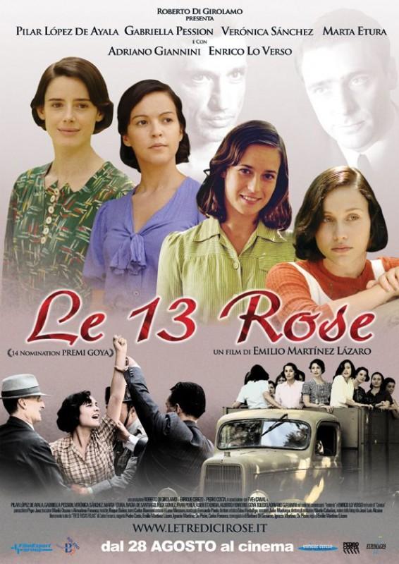 La locandina italiana di Le tredici rose