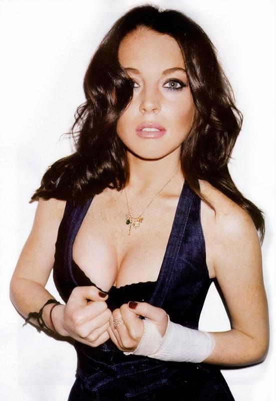 Una foto promo di Lindsay Lohan