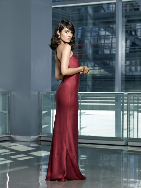Una foto promo di Shannyn Sossamon che interpreta Coraline, nella serie tv Moonlight