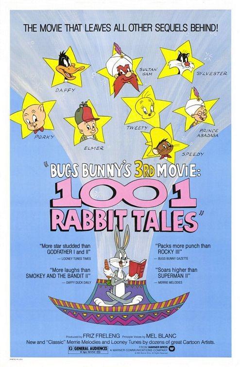 La locandina di Le 1001 favole di Bugs Bunny