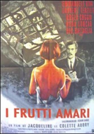 La copertina di I frutti amari (dvd)
