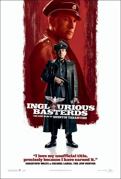 Nuovo Character poster USA per Inglorious Basterds - Christoph Waltz
