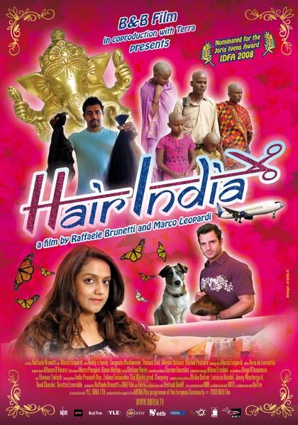 La locandina di Hair India