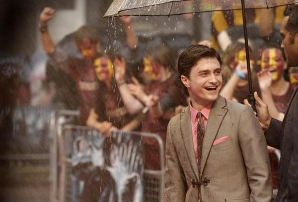 Daniel Radcliffe durante la premiere londinese di Harry Potter e il Principe Mezzosangue