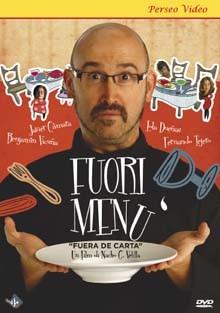 La copertina di Fuori menù (dvd)