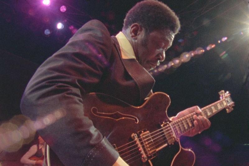 B.B. King in un'immagine del documentario Soul Power