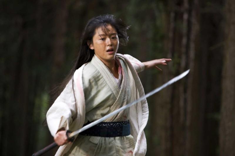 Gianna Jun in un'immagine del film Blood: The Last Vampire