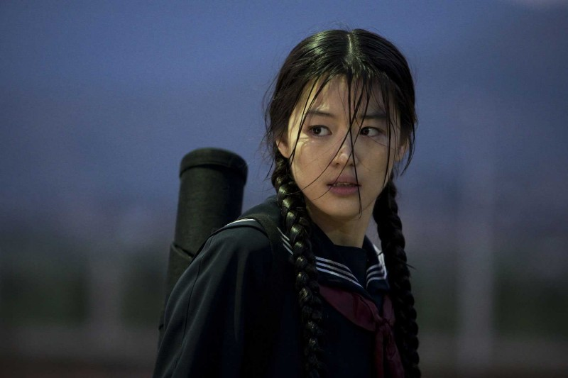 Gianna Jun in un'immagine di Blood: The Last Vampire