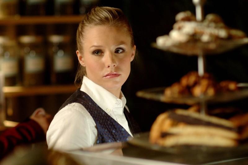 Un primo piano di Kristen Bell (Veronica Mars) nell'episodio 'La sposa in fuga' di Veronica Mars