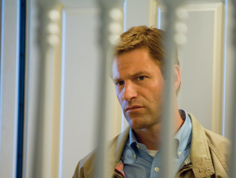 Una immagine di Aaron Eckhart, che è tra i protagonisti del film Towelhead - Niente velo per Jasira