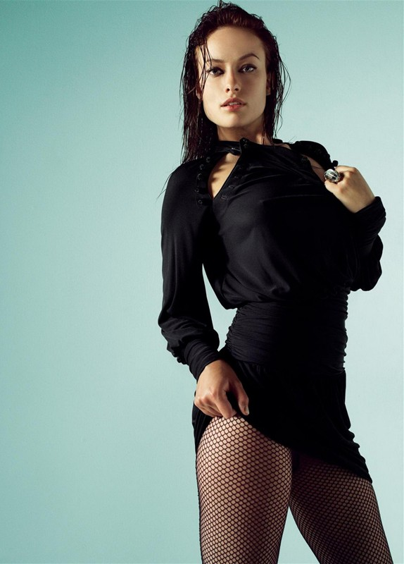 L'attrice Olivia Wilde in una sexy immagine
