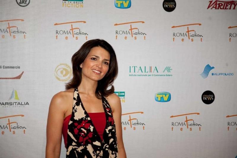 RomaFictionFest 2009: la simpatica Tosca D'Aquino presenta Tutti per Bruno