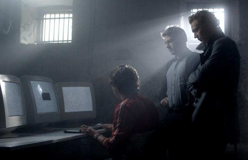 Kenneth Branagh in una scena della serie Wallander