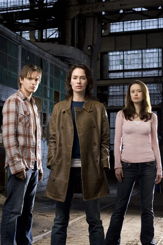 Thomas Dekker, Lena Headey, Summer Glau per la season 1 di Terminator: The Sarah Connor Chronicles
