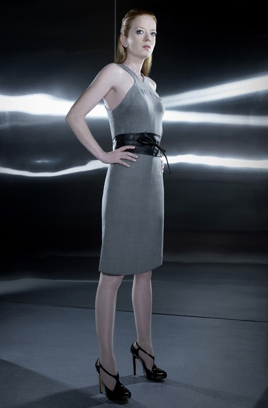 Una foto promozionale di Shirley Manson per la 2 stagione di Terminator: The Sarah Connor Chronicles