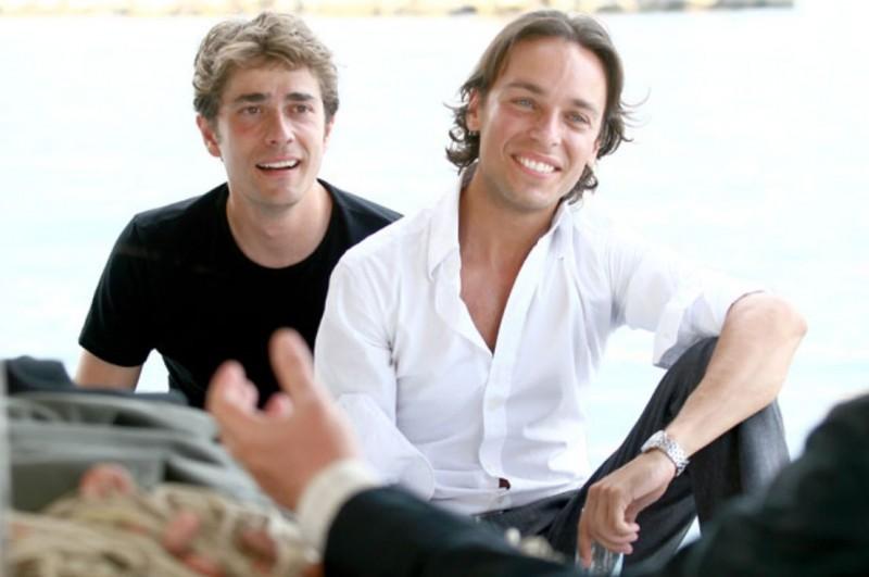 Giovanni Scifoni e Giuseppe Schisano in una scena della serie Io e mio figlio - Nuove storie per il commissario Vivaldi