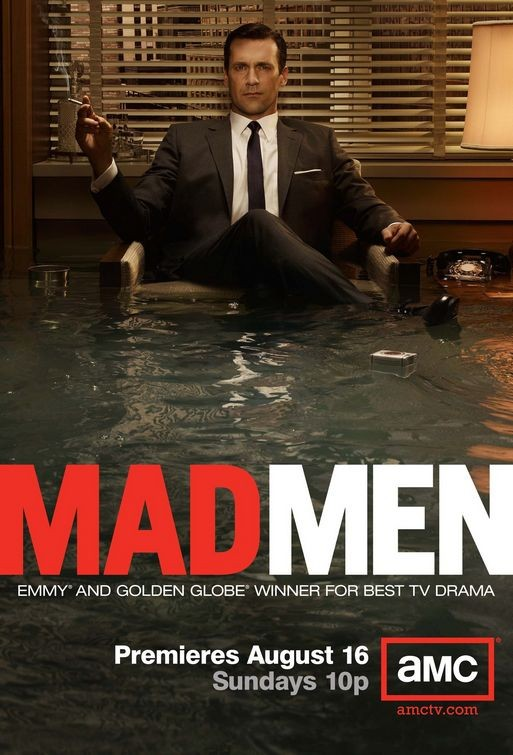 La locandina della Stagione 3 di Mad Men