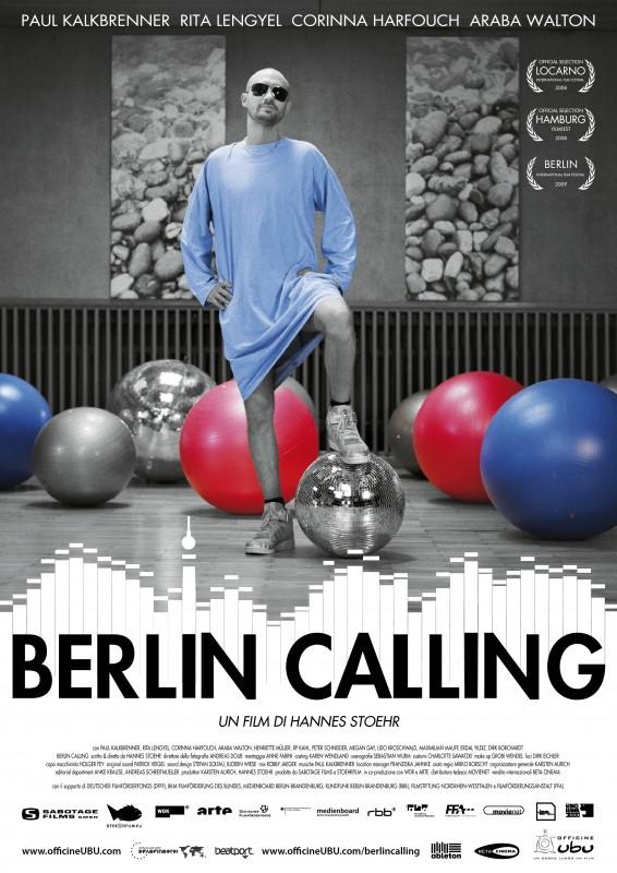 La locandina italiana di Berlin Calling