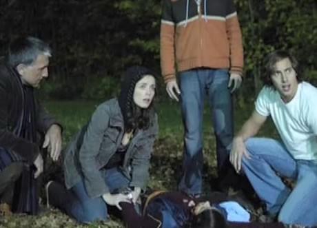 Un'immagine dell'horror Le cronache dei morti viventi