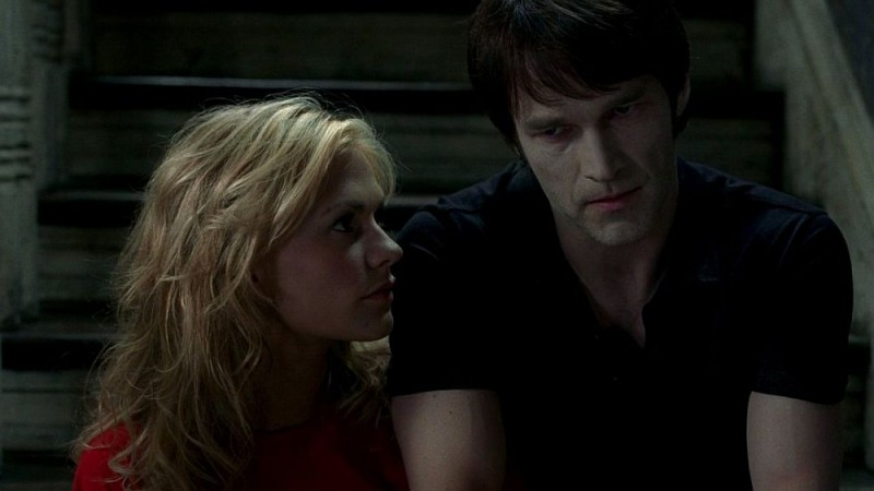 Anna Paquin e Stephen Moyer in una scena dell'episodio 'Shake and Fingerpop' della serie tv True Blood