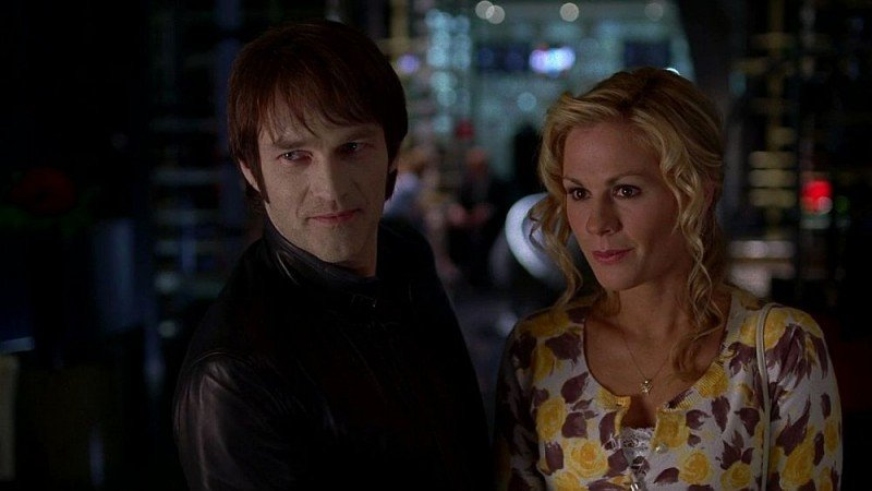 Stephen Moyer e Anna Paquin in un'immagine dell'episodio 'Shake and Fingerpop' della serie tv True Blood