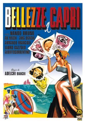 La copertina di Bellezze a Capri (dvd)