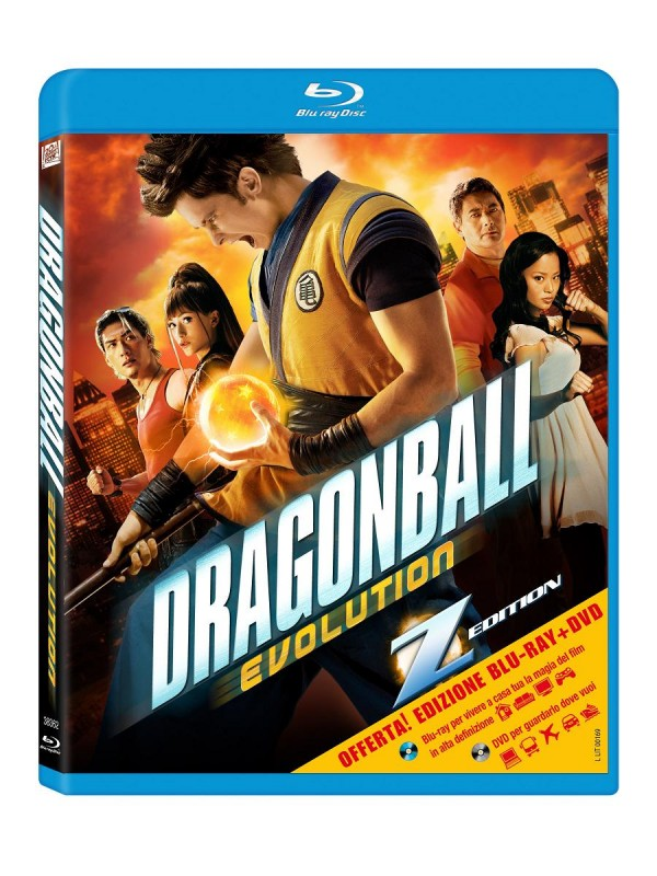 La copertina di Dragonball Evolution (blu-ray)