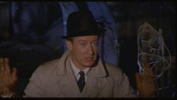 Tom Poston è Tom Penderel nel film Il castello maledetto