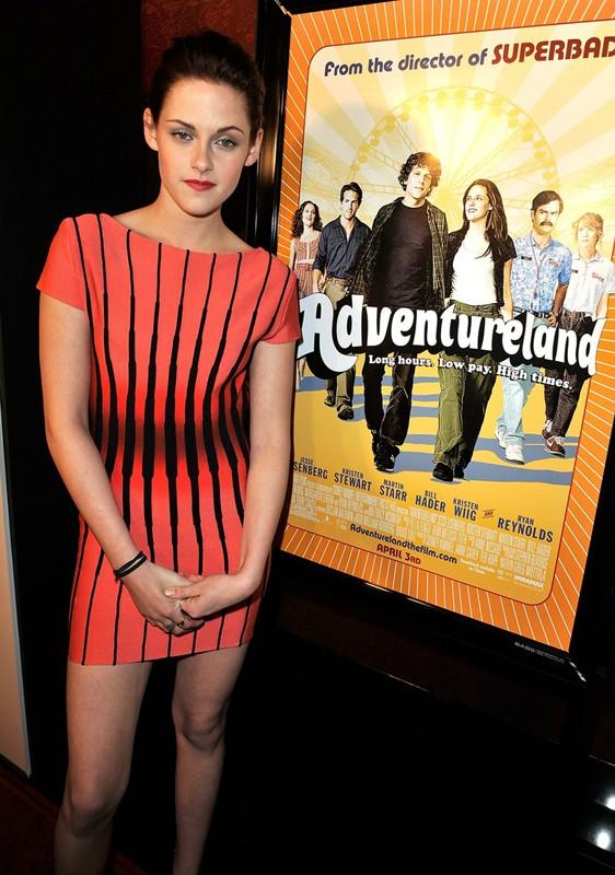 Kristen Stewart alla premiere del film Adventureland a Los Angeles, California, nel 2009