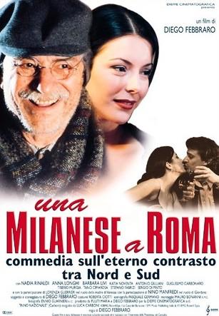 La locandina di Una milanese a Roma