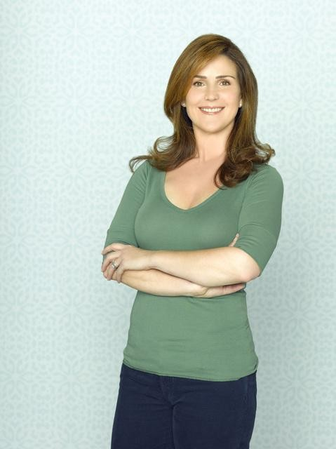 Peri Gilpin in una foto promozionale della serie Make It Or Break It