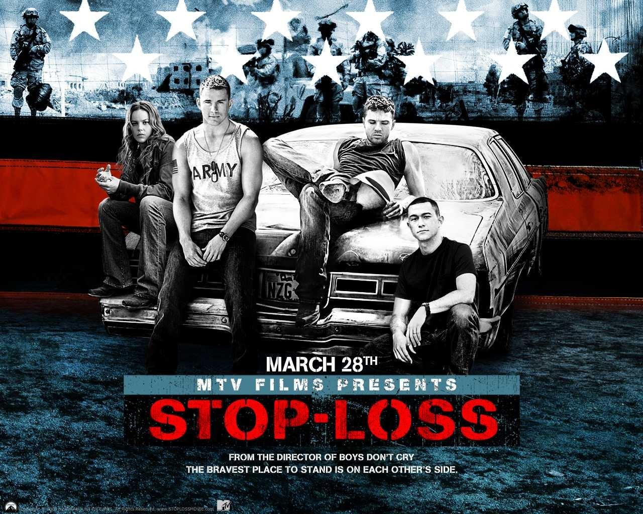 Un wallpaper ufficiale del film Stop Loss