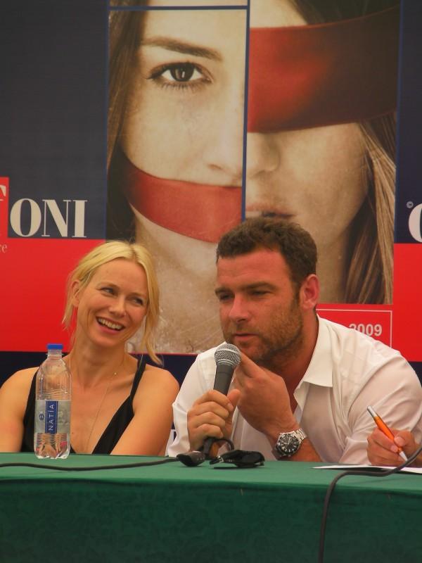 Giffoni 2009: Naomi Watts e Liev Schreiber