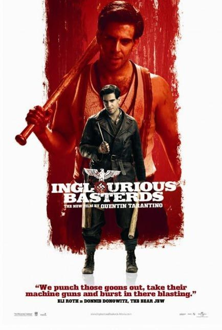 Nuovo Character poster USA per Inglorious Basterds - Eli Roth
