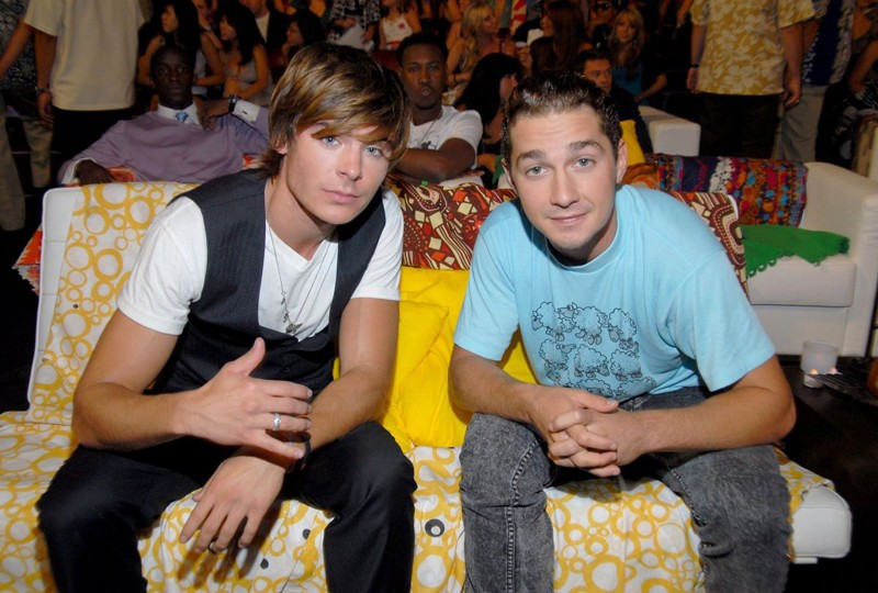 Zac Efron e Shia LaBeouf ai Teen Choice Awards 2007