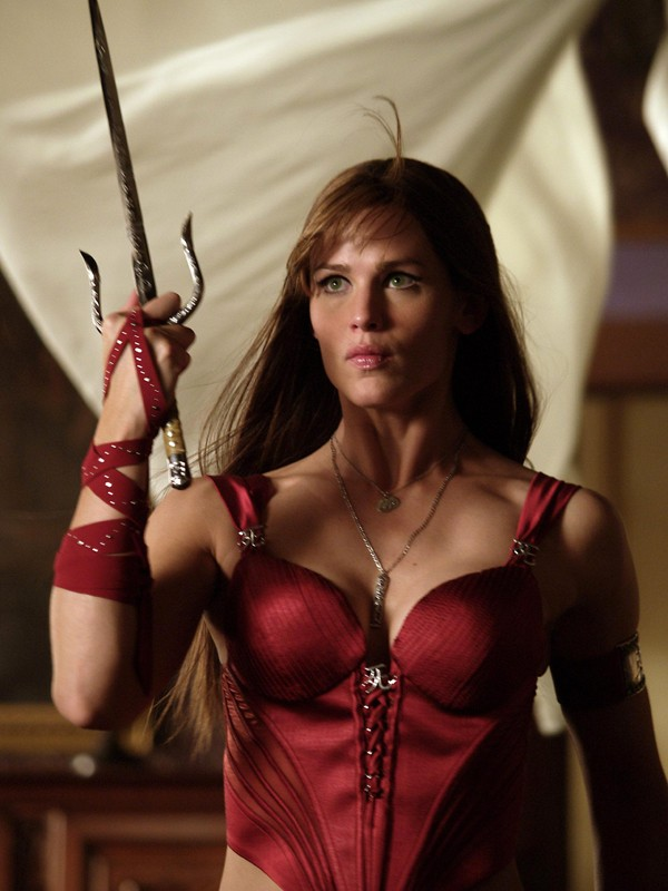 Jennifer Garner interpreta il personaggio di Elektra nell'omonimo film