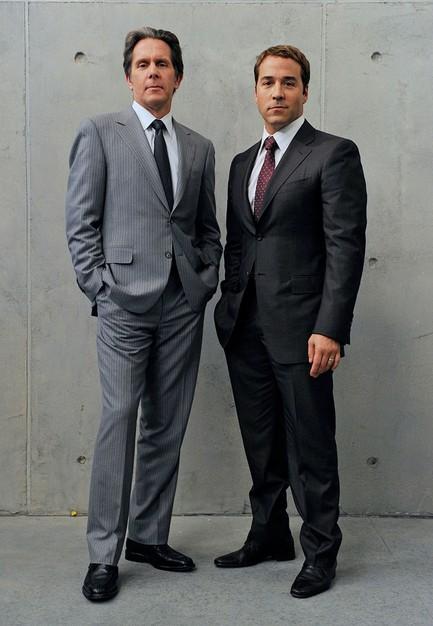 Jeremy Piven e Gary Cole in una foto promozionale per la sesta stagione di Entourage