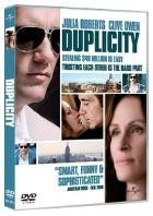 La copertina di Duplicity (dvd)